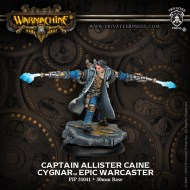 captain allister caine cygnar epic warcaster